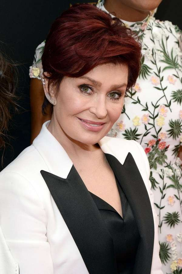 TV personality Sharon Osbourne walks the red carpet