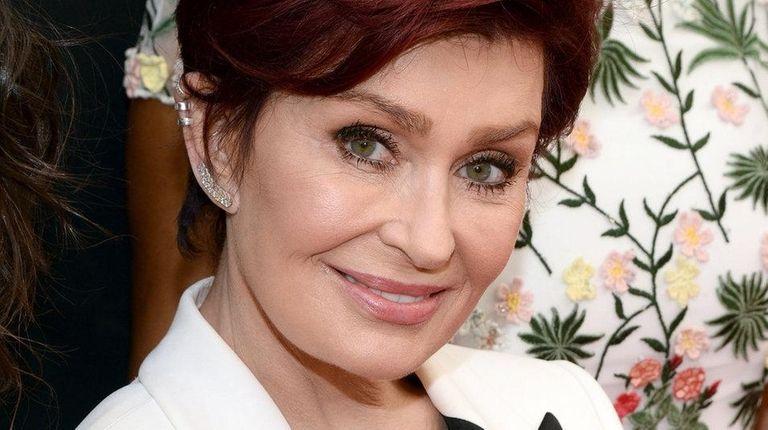 TV personality Sharon Osbourne walks the red carpet