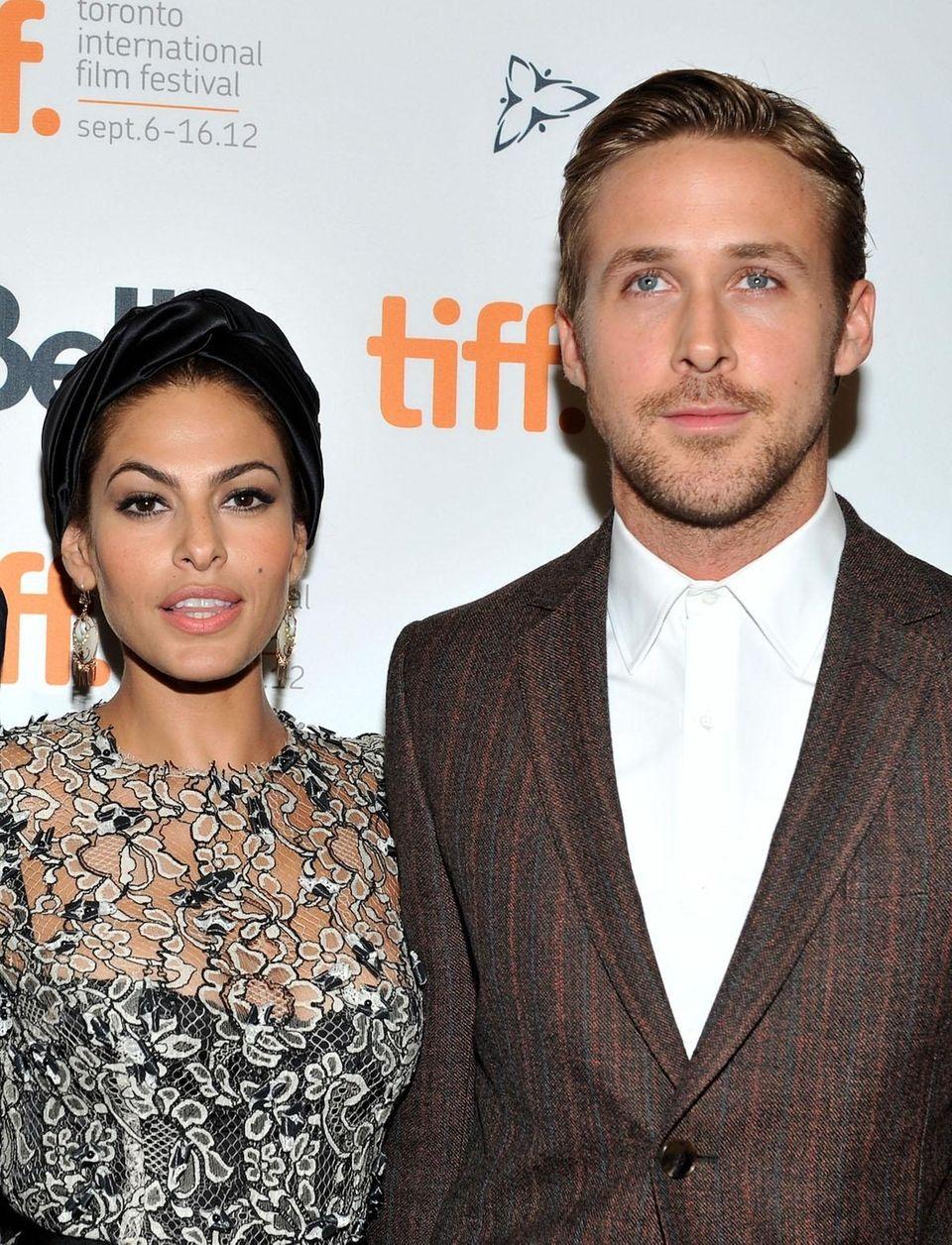 Parents: Eva Mendes and Ryan Gosling Children: Amada