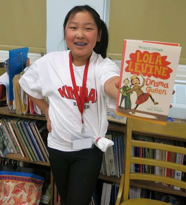 Kidsday reporter Sophia Park read the book
