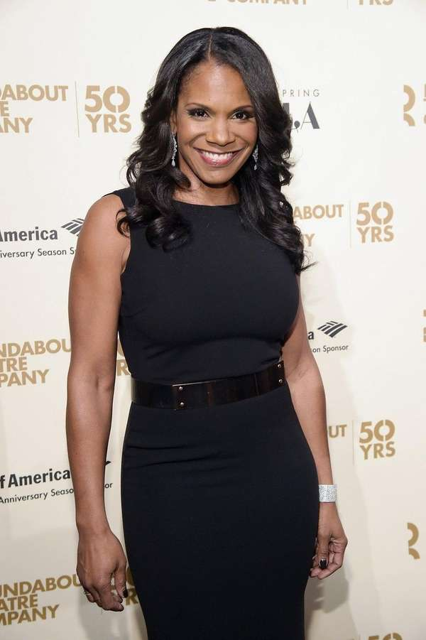 Actress Audra McDonald attends the Roundabout Theatre Company