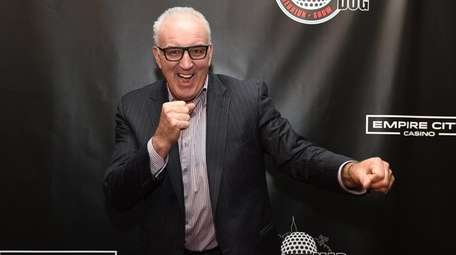 Retired American heavyweight boxer Gerry Cooney walks the