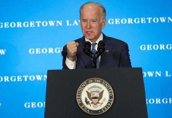 Vice President Joe Biden speaks during an appearance
