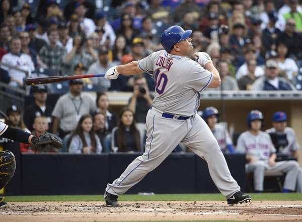 Bartolo Colon does something he had never