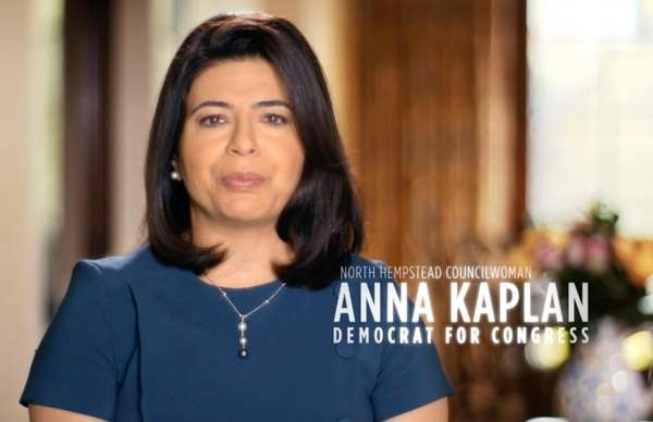 Anna Kaplan, a democratic contender for the Congress