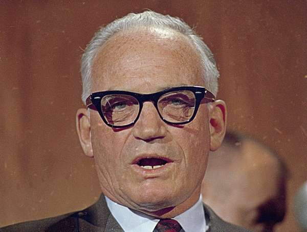 Barry Goldwater in 1967. The Arizona senator was
