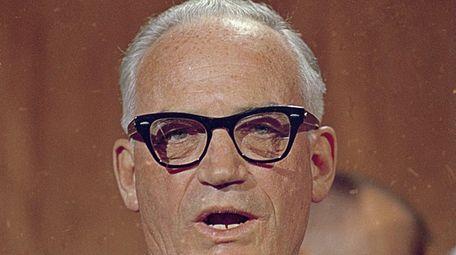 Barry Goldwater in 1967. The Arizona senator was