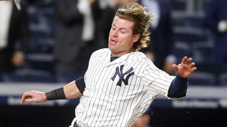 Ben Gamel #38 of the New York Yankees