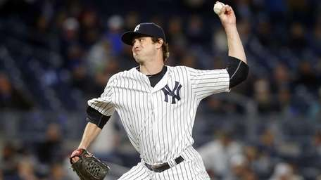 Andrew Miller #48 of the New York Yankees