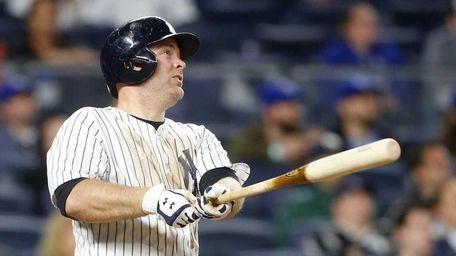 Brian McCann #34 of the New York Yankees