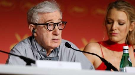 Woody Allen and Blake Lively attend the