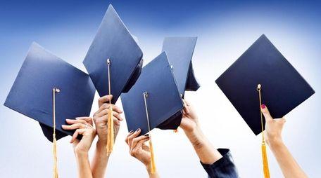 Graduating calls for a celebration, including raising a