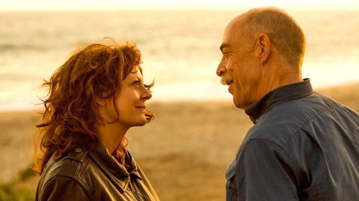 Susan Sarandon is a widow and J.K. Simmons