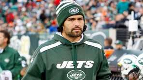 Mark Sanchez of the New York Jets looks