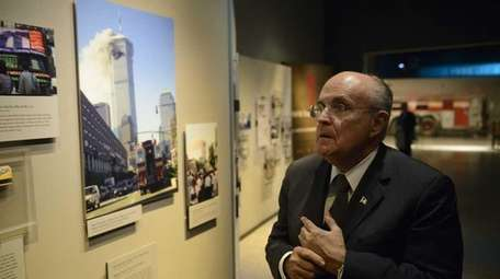Donald Trump says he might appoint Rudy Giuliani,