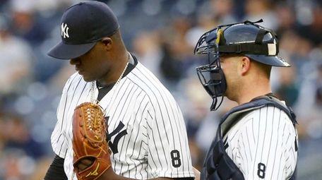 Michael Pineda #35 of the New York Yankees