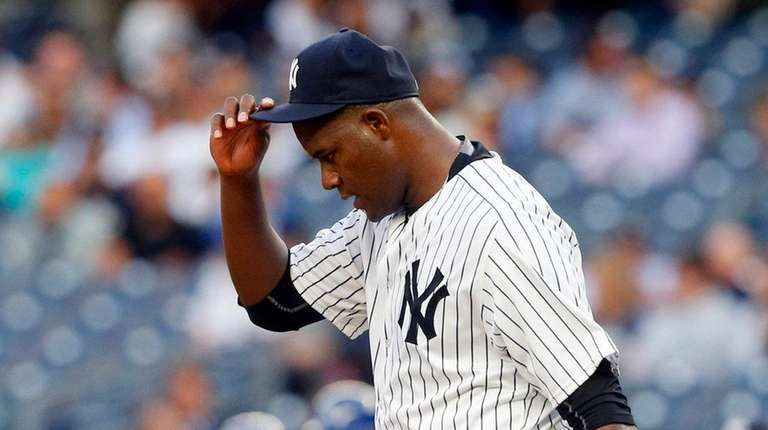 Michael Pineda of the New York Yankees had