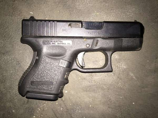 The NYPD released this photo of a .40-caliber