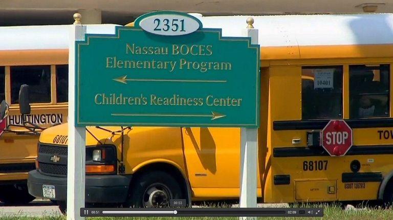 A Nassau BOCES school bus driver and matron