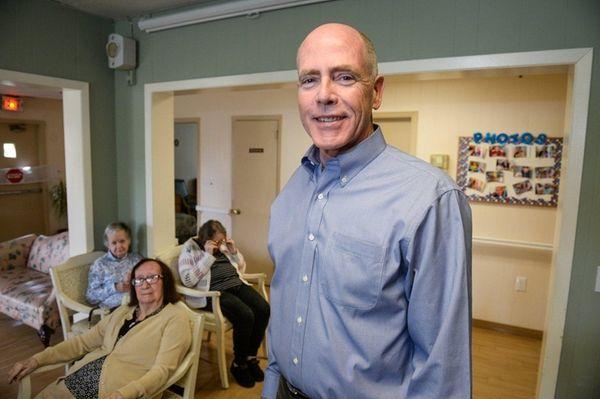James McPeak Jr., owner of McPeak's Assisted Living