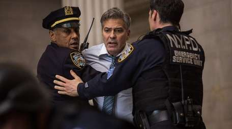 George Clooney plays the host of a financial