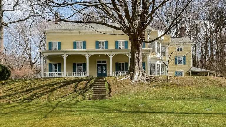 This historic three-story house in Cold Spring Harbor