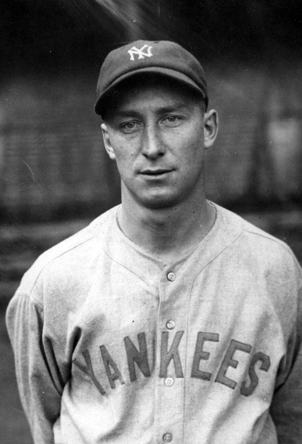 New York Yankee Myles Thomas, 1927