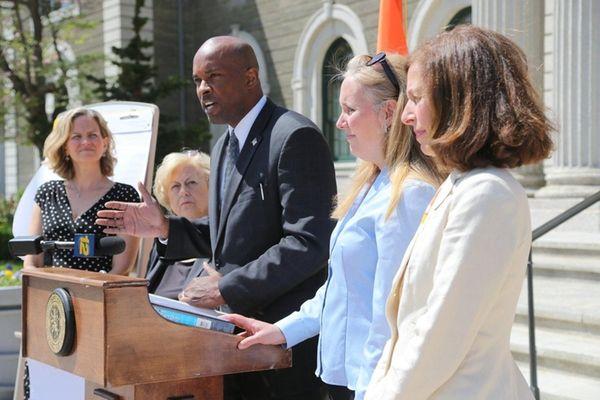 Nassau County Democratic Minority Leader Kevan Abrahams will