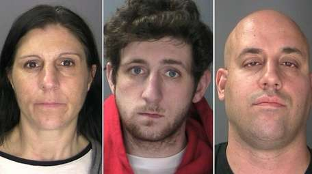 From left, the Northport Police Department arrested Antoinette