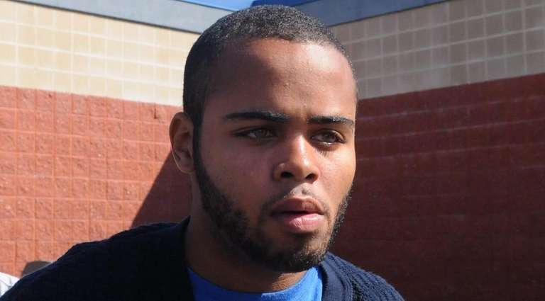 Dante Taylor of Mastic is accused of raping