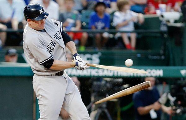 New York Yankees Chase Headley (12) breaks his