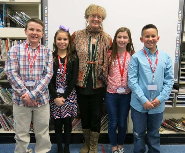 Author Mary Pope Osborne met with Kidsday reporters,