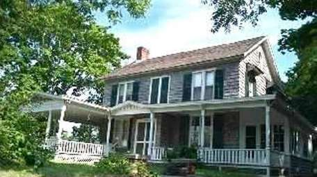 This East Moriches hoouse, on the market in