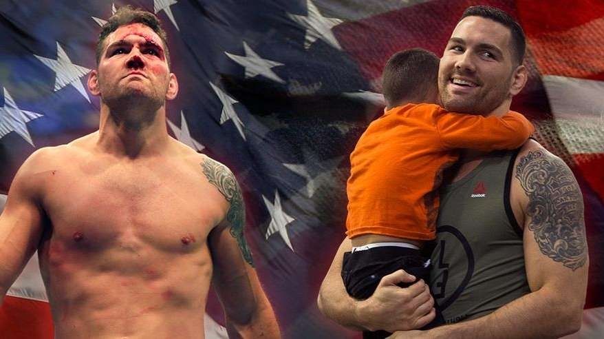 Chris Weidman: The Fighter and the Father