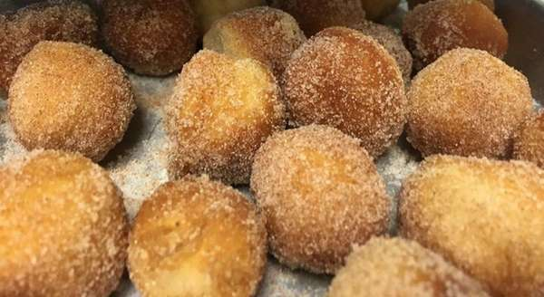 The pop-up Donut Bliss sets up at Kitchen