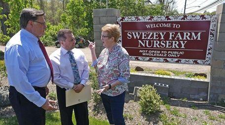 The Swezey Farm Nursery in Middle Island has