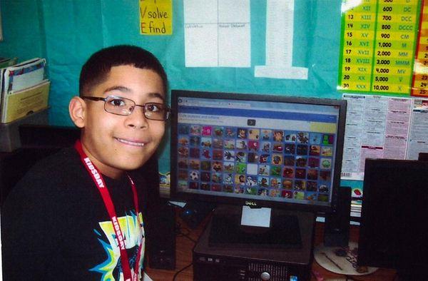 Kidsday reporter Brandon Saldana Llanos uses ABCya.com