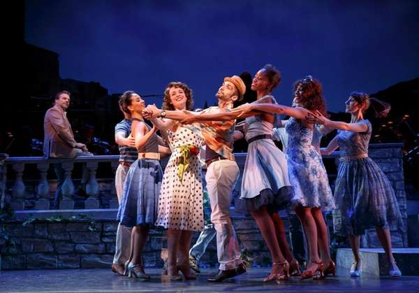 Melissa Errico and ensemble in Encores!