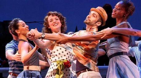 Melissa Errico and ensemble in Encores!