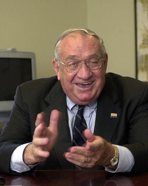 James M. Shuart, former longtime president of Hofstra