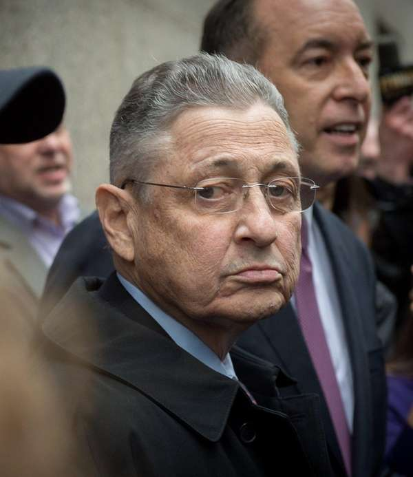 Former Assembly Speaker Sheldon Silver exits Federal District