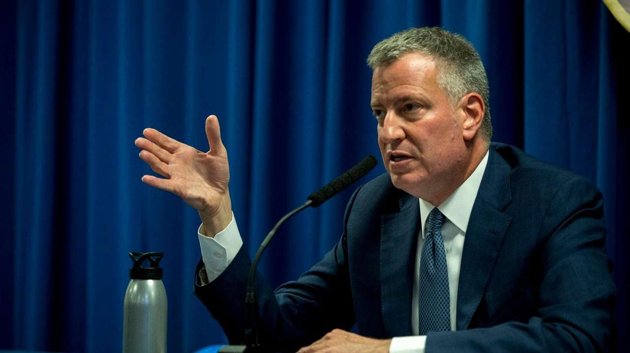 Mayor Bill de Blasio, seen May 3, 2016,