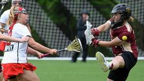 Stony Brook attacker Courtney Murphy scores her 99th