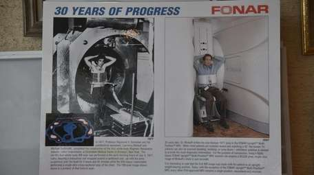 The difference of 30 years. At left, the