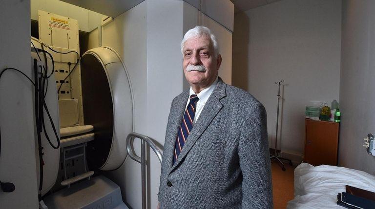 Dr. Raymond Damadian on April 29, 2016.