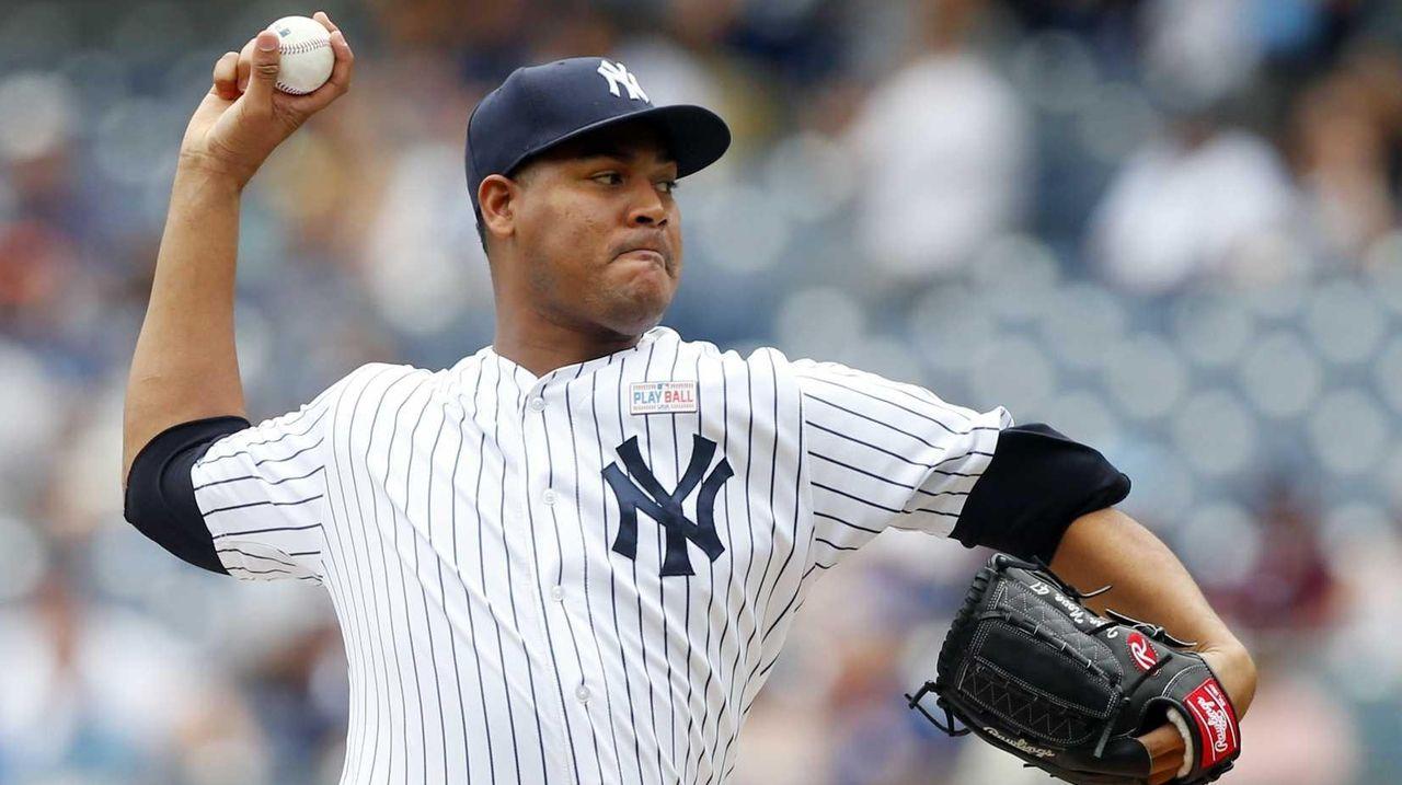 Ivan Nova #47 of the New York Yankees