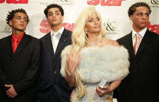 Victoria Gotti, daughter of the late John Gotti,