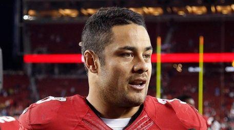San Francisco 49ers running back Jarryd Hayne (38)