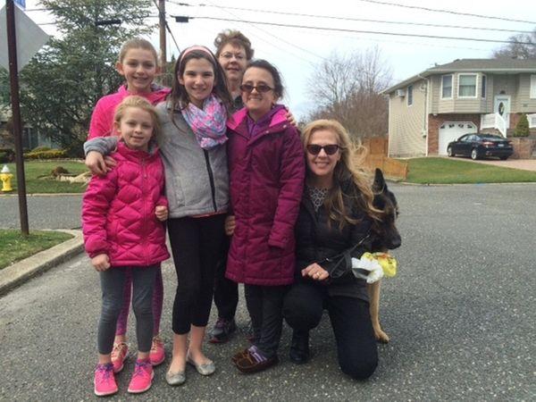 Clockwise from left, Erin Meehan, Hannah Meehan, Kidsday