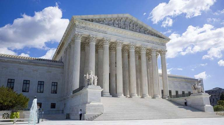 A view of the Supreme Court in Washington,